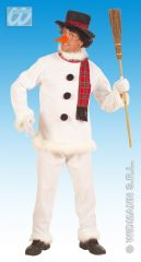 Deluxe Adult Snowman Costume